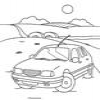 Coloring Cars - Transportation -1