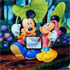 Micky and Friends Find the Alphabets