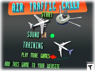 Играть онлайн - Air Traffic Chief