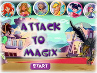 Играть онлайн - Attack to Magix