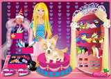 Barbie and Her Cute Dog - Скриншот 1