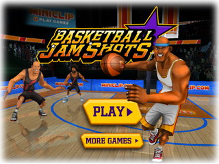 Играть онлайн - Basketball Jam Shots (Игра баскетбол онлайн)