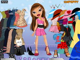 Bratz Sasha Dress Up - Скриншот 3