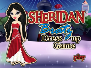 Играть онлайн - Bratz Sheridan Dress Up