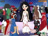 Bratz Sheridan Dress Up - Скриншот 2