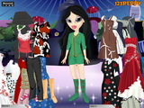 Bratz Sheridan Dress Up - Скриншот 3
