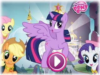 Играть онлайн о пони новые игры пони