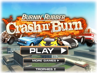 Играть онлайн - Burnin' Rubber. Crash n' Burn