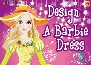 Играть онлайн - Design a Barbie Dress