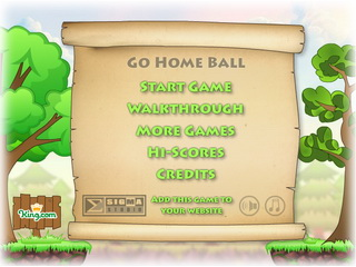 Играть онлайн - Go Home Ball