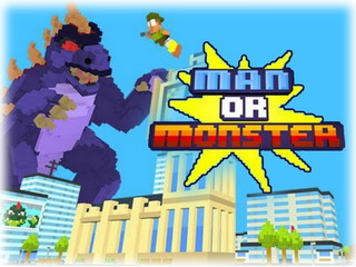 Играть онлайн - Man or Monster