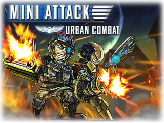 Играть онлайн - Mini Attack Urban Combat