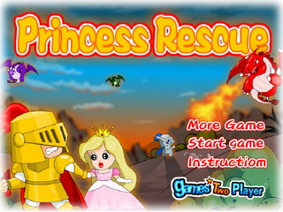 Играть онлайн - Princess Rescue