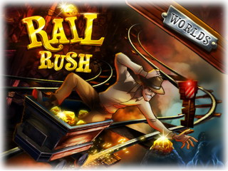 Играть онлайн - Rail Rush Worlds