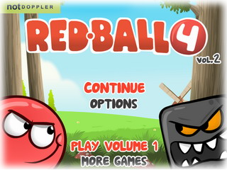 Играть онлайн - Red Ball 4. Volume 2