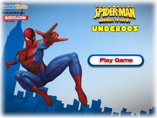 Играть онлайн - The Amazing Spiderman Brought to You by Underoos