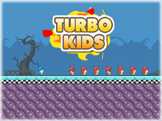 Играть онлайн - Turbo Kids