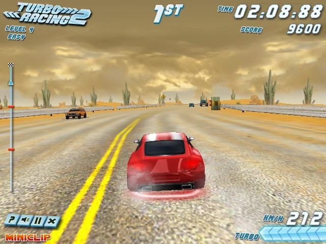 Скриншот: 3D онлайн гонки Turbo Racing 2. Все права защищены 2009-2015, Ope
